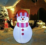 5 Foot Christmas Inflatable Snowman Outdoor Yard Decorations
