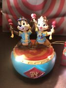 Disney Parks Year Of The Dragon Chip And Dale Figurine Bobble Head New With Tag