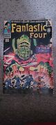 Fantastic Four 49 1st Full Galactus 2nd Silver Surfer 1966 Marvel Silver Age Key