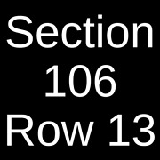 4 Tickets The Killers 9/10/22 Arena Fort Worth, Tx