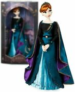 Disney Frozen 2 Queen Anna Limited Edition 17 Heirloom Doll Le 8000 New