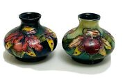2 William Moorcroft-potter Vase-made In England-signed-collectible