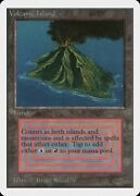 Volcanic Island Unlimited Heavily Pld Dual Land Rare Reserved List Card Abugames