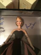 Nrfb 2012 Signed Extremely Rare Blonde Film Noir Convention Barbie Doll