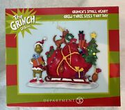 Dept 56 's Small Heart Grew Three Sizes That Day 804158d New In Box
