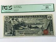 1896 1 Educational Silver Certificate Note Pcgs 64 - Very Choice New - Fr. 224