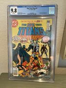 The New Teen Titans 2 First Appearance Of Deathstroke Cgc 9.8 Wp Newsstand