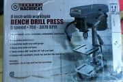 Central Machinery Andnbsp8andnbspbench Drill Press 5-speed 760-3070rpm