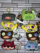 Fuggler Funny Ugly Monster Collectible Plush Clip-on, Scary Key Chain Lot New