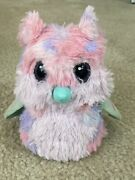 Furby Interactive Battery-operated Toy Owl Pink Purple Eyes Light Up With Sound