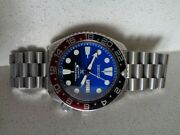 Seiko 'save The Ocean' Mod With Coke Bezel Automatic Divers Watch