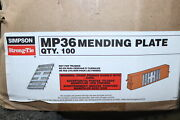 100-pk Simpson Strong-tie Mending Plate 3-in X 6-in Mp36