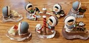 Lot Hallmark Frosty Friends Ornaments 80and039s 1983 -1989 83 84 85 86 87 88 89