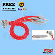Spark Plug Wire Set Msd For Toyota Pickup 1981-1990