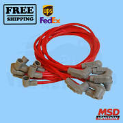 Spark Plug Wire Set Msd Compatible With Chevrolet 69-1972