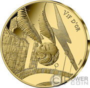 Golden Snitch Gold Coin 250€ France 2021