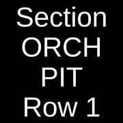 4 Tickets The Floyd Experience 4/16/22 St. Petersburg, Fl