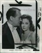 1951 Press Photo George Sanders, Susan Hayward, I Can Get It For You Wholesale
