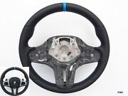 Bmw 5 G30 6 G32 M-tech Sport New Nappa/perforated Heated Shift Sw Blue Mark/st.