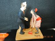 Norman Rockwell 10 Of The The 12 Series Figurines-see All Pictures