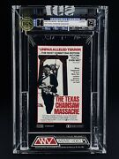 Vhs The Texas Chainsaw Massacre Igs 7.0-7.5 Nm 1982 Wizard Video - First Print