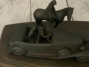 Chrysler Motors Parts And Service What's The Hurry Bronze Statue Mopar 1988 Usa