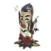 Heather Goldminc Welcome To Websters 10.5 Candle House Halloween Tree Spider