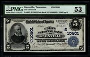 1902 5 The Union National Bank Of Knoxville Tennessee Pmg 53 Fr.602 Ch10401