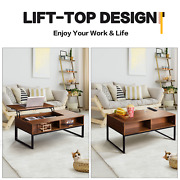 Lift Top Coffee Table With Hidden Compartment And Storage End Dining Table Home Us