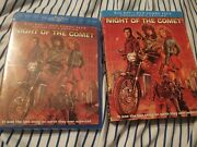 Night Of The Comet Blu Ray Scream Factory Collectorand039s Edition W/ Oop Slipcover