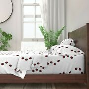 Ladybugs Insects Bugs Creepy Crawly 100 Cotton Sateen Sheet Set By Roostery