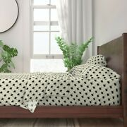 Bee Bees Bugs Dots Photographic Insect 100 Cotton Sateen Sheet Set By Roostery