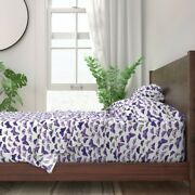 Butterflies Specimen Insect Butterfly 100 Cotton Sateen Sheet Set By Roostery