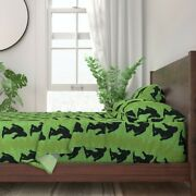 Bigfoot Yeti Sasquatch Abominable 100 Cotton Sateen Sheet Set By Roostery