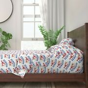 Lobster Seafood Restaurant Vintage 100 Cotton Sateen Sheet Set By Roostery