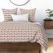 Picnic Summer July 4th Watermelon Gingham Ants Sateen Duvet Cover By Roostery