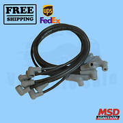 Spark Plug Wire Set Msd Fits With Chevrolet 69-1974