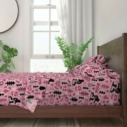 Bigfoot Loven Big Foot Sasquatch 100 Cotton Sateen Sheet Set By Roostery