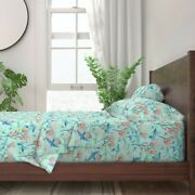 Dragonflies Insects Bugs Animals Air 100 Cotton Sateen Sheet Set By Roostery