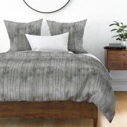 Wood Barn Wood Fence Old Rustic Vintage Sateen Duvet Cover By Roostery