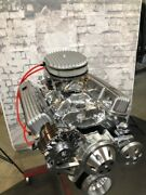 383 F Stroker Crate Engine Motor 475hp Roller Turn Key Pro Street Chevy Sbc Look