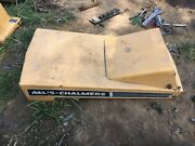 Salvage Allis Chalmers B-110 B-112 Tractor Hood Assembly Battery Cover Emblem