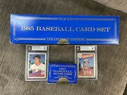 1985 Topps Baseball Card Set Collectors Edition And Traded Series