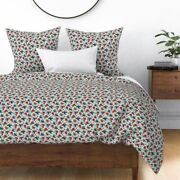 Rockabilly Birds Nautical Stars Swallows Always Sateen Duvet Cover By Roostery
