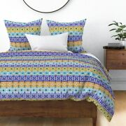 Pysanky Sateen Duvet Cover By Roostery