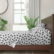 Ants Bugs Plants Kids Outdoors Dots 100 Cotton Sateen Sheet Set By Roostery