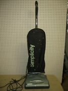 Simplicity Freedom F3500 Light Weight Upright Vacuum Cleaner Bag Light Works