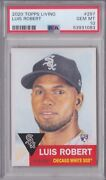 2020 Topps Living Luis Robert 297 Rookie Card Rc Psa 10 Qty Avail