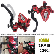 10mm Motorcycle Master Cylinder Reservoir Brake Clutch Hydraulic Levers Oil Cup