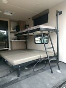 Rv Toy Hauler Trailer Wall Mount Bed Horse Trailer Camping Motor Home